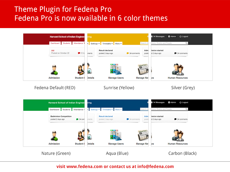 Fedena-Color-Themes