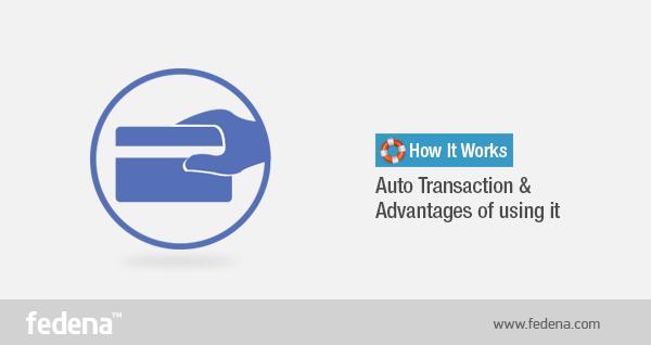 Fedena Auto Transactions