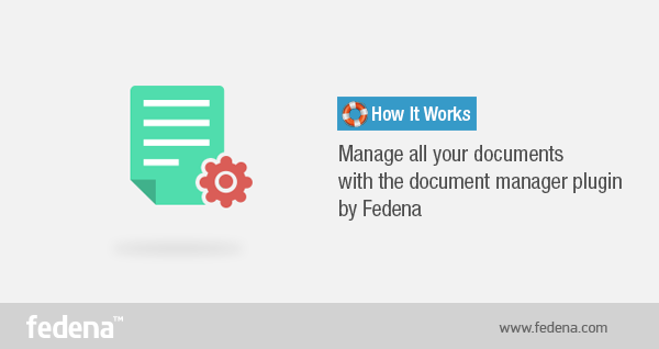 Document Manager plugin by Fedena