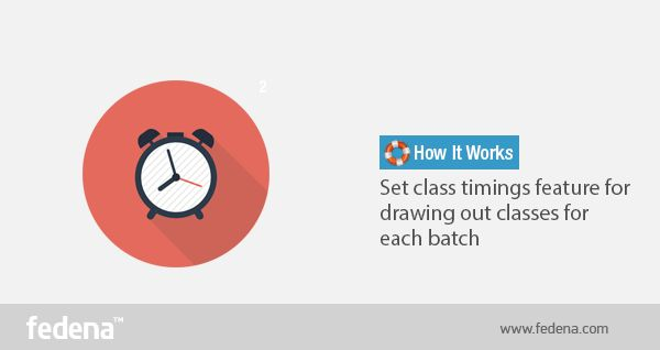 Class Timings Feature