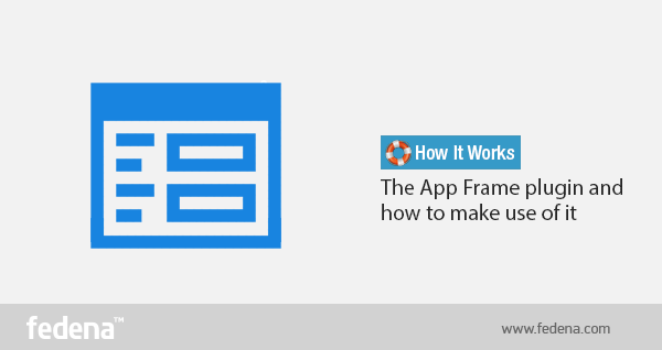 Fedena App Frame Plugin