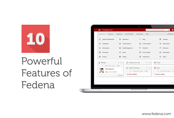 Features of Fedena