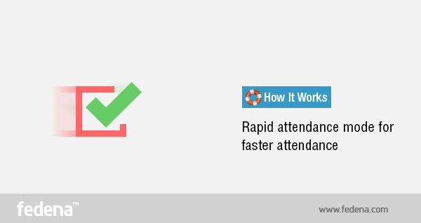 Rapid-attendance