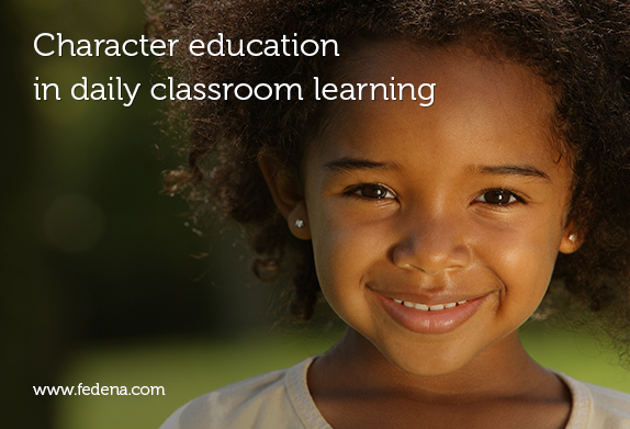 Character education in classroom learning