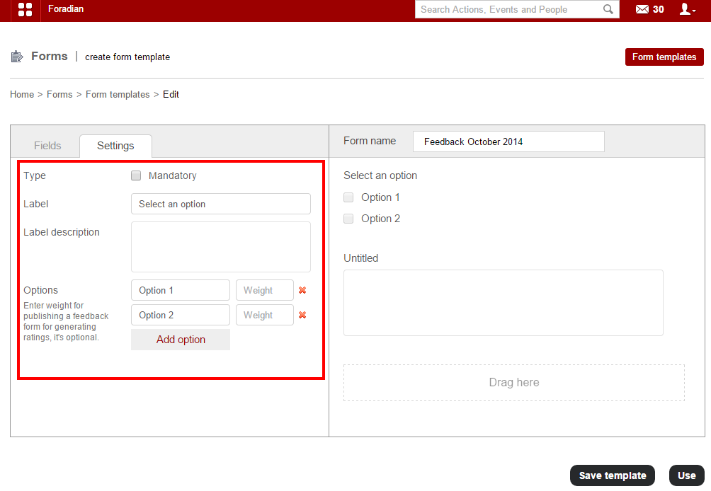 Create and publish feedback forms using Form Builder plugin ...