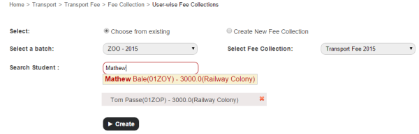 Managing hostel and transport fee collections made easy