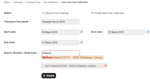 Managing hostel and transport fee collections made easy1