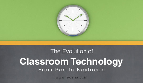 The Evolution of Classroom Technology: The Journey from Pen to Keyboard