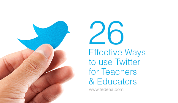 use twitter for teachers