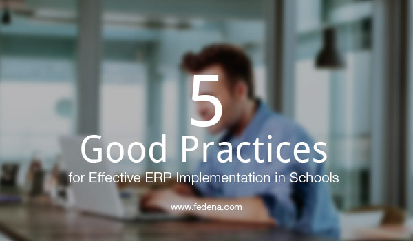 ERP implementation in educational institution