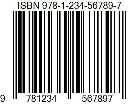 Linear barcode