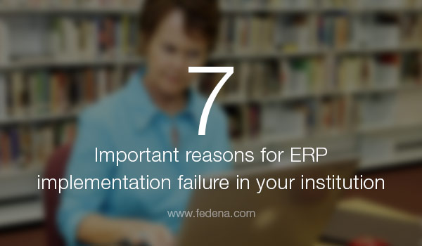 reasons for ERP implementation failure