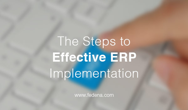 effective ERP implementation