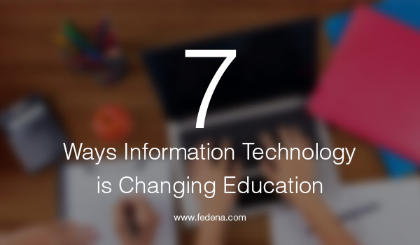 technology is changing education Technology in education: an overview  to keep up with what's changing (and what isn't), observers must know where to look  in the department's 2016 national education technology plan.