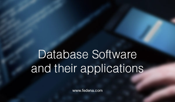 types of database software