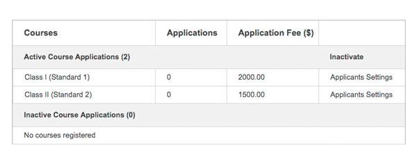 Fedena Applicant Registration
