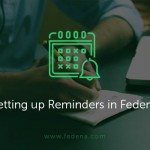 Setting up reminders in Fedena