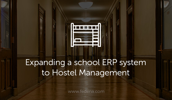 School ERP as hotel management blog image