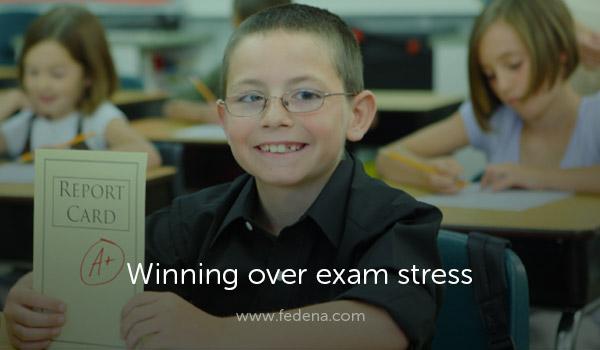 Relieve exam stress