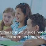 Classroom Technology blog post Fedena School ERP