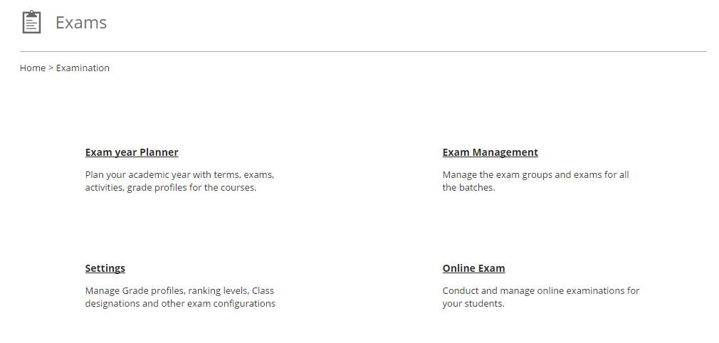 Fedena Exam screenshot image