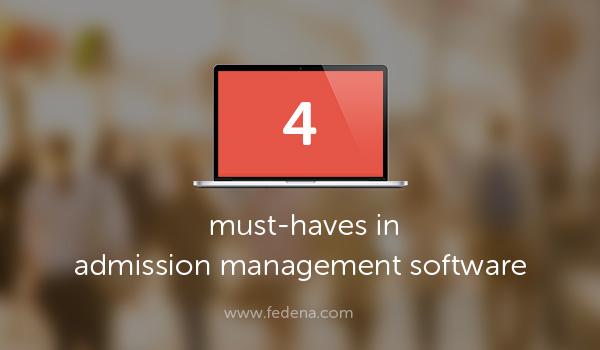 admission management software
