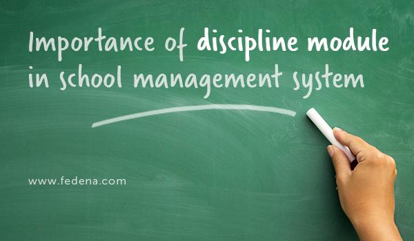 Discipline module