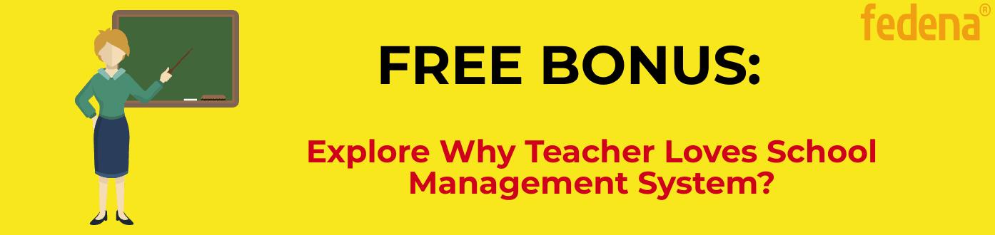 Why teacher loves school management system