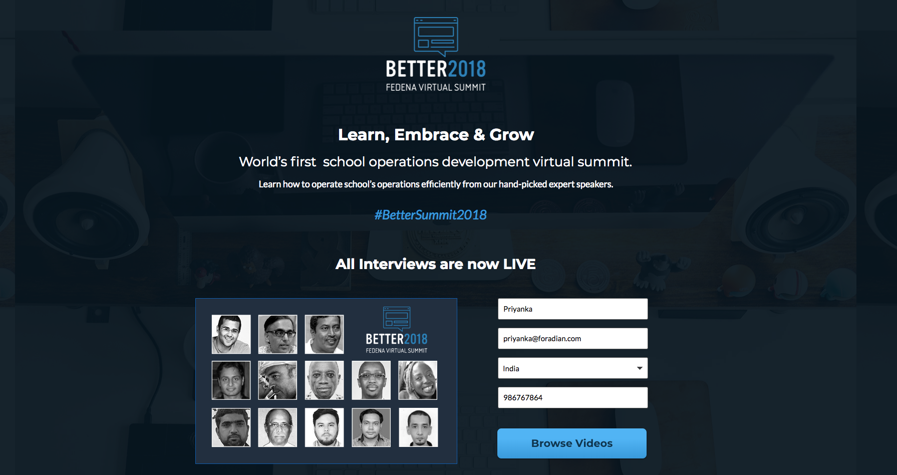 school operations development virtual summit 2018