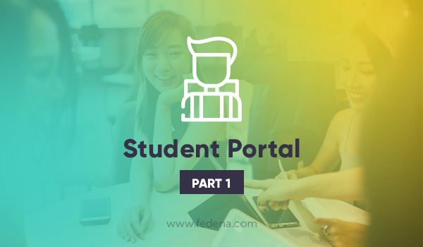 Student portal in School ERP software