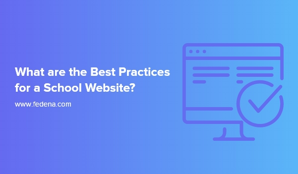 school website best practices
