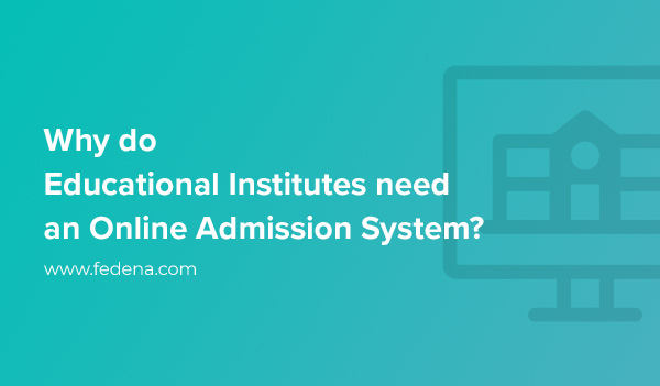 why Online Admission System