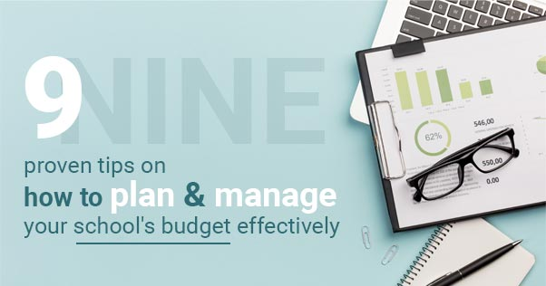 manage school budget effectively