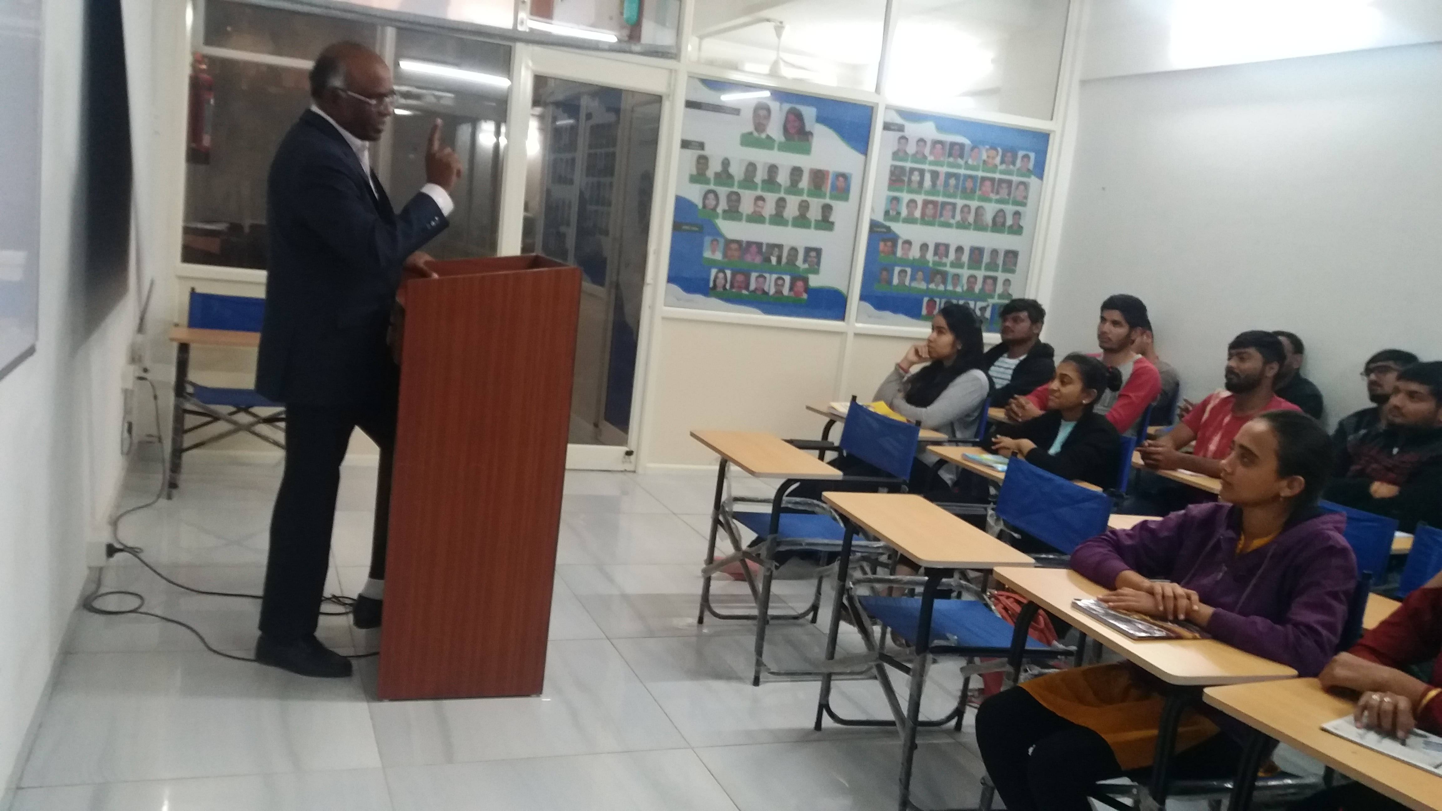 Candidates of LAKSH Academy