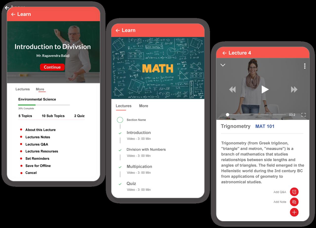 online learning platform for campus