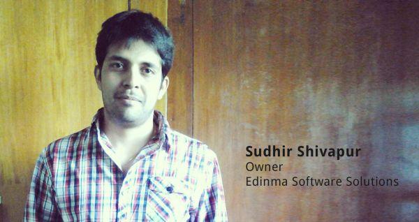 Sudhir Shivapur, Owner of Edinma